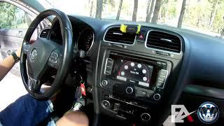 Обзор VW Golf 6 в максимальной комплектации