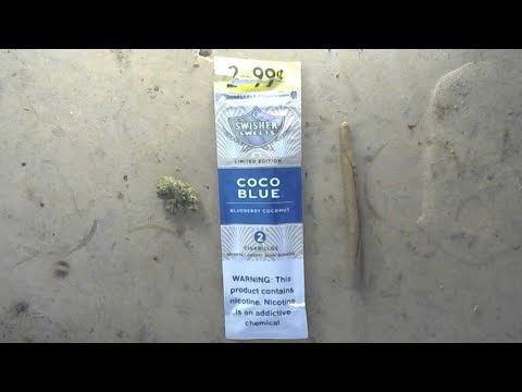 Certified Pothead - Blunt Review - Coco Blue Swisher Sweets