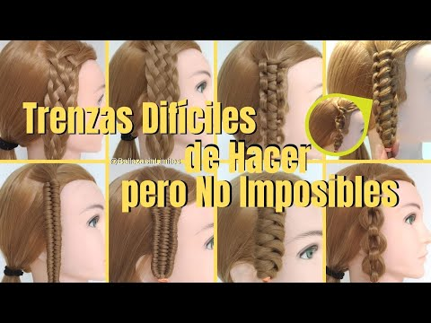 Trenzas Dif�ciles de Hacer pero No Imposibles! | Tipos de Trenzas by Belleza sin Limites