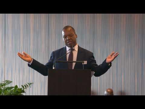 Zimbabwe Reserve Bank Chief Dr. John Mangudya Zimbabwe Is Open for Business Switzerland