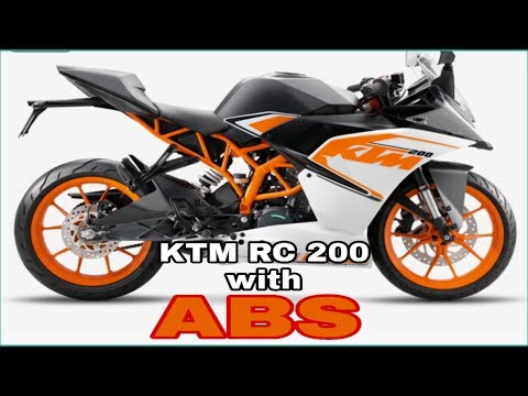 KTM RC  ABS  भारत में launch हुई ।। Price & specifications in India !