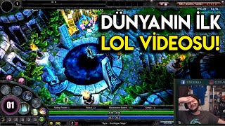 İlk LoL Fragmanını İzliyorum | 2009 LoL Beta Oynanış Videosu