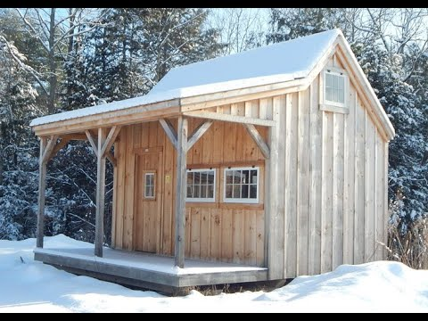 16x16 Homesteader Vermont Post & Beam Cabin Kit