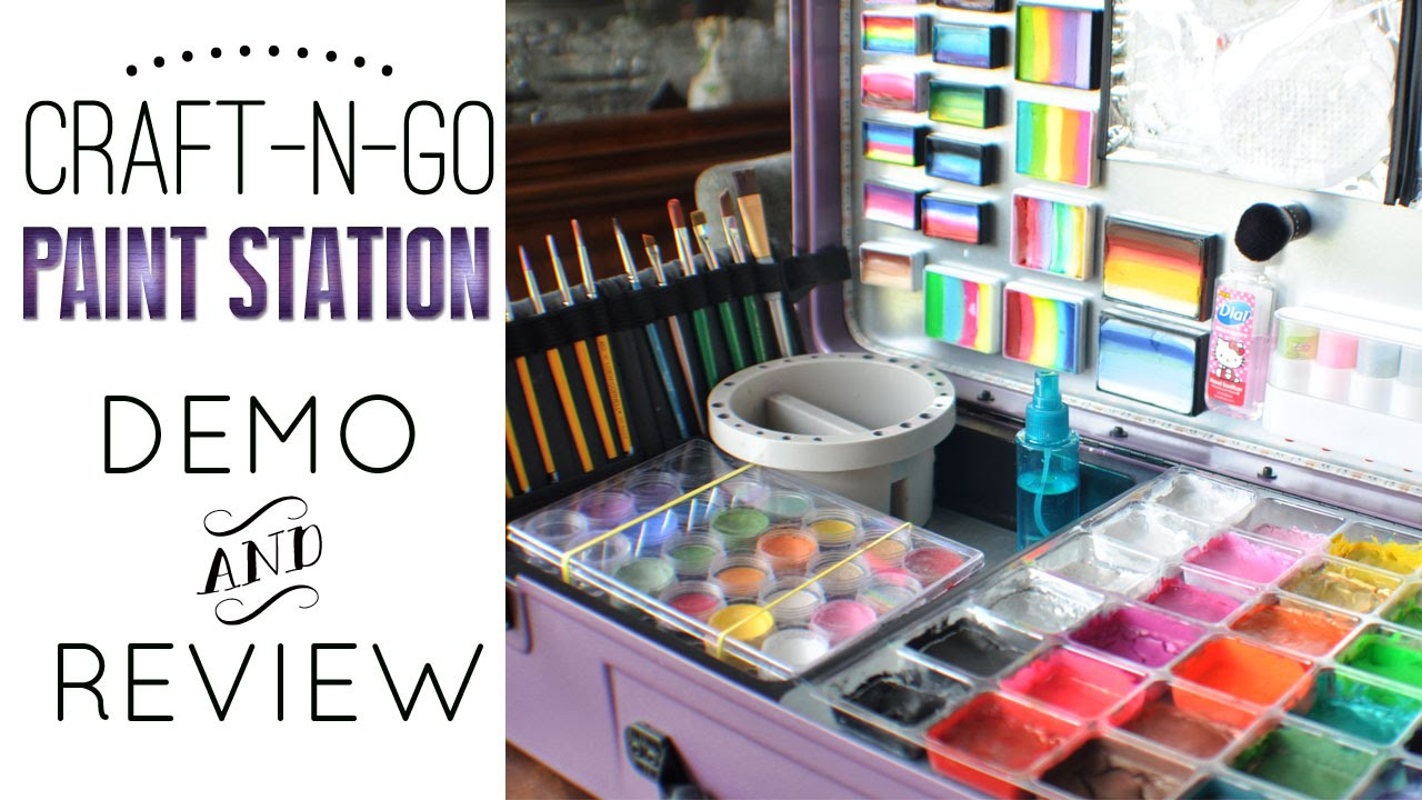 Craft-N-Go Paint Station Overall Review - YouTube