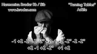 Adèle - Turning Tables - Harmonica Bb - - Le plan de la semaine 19/52-2013 -