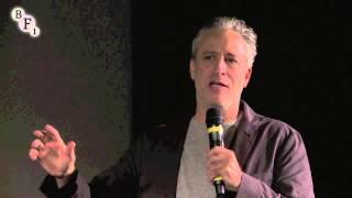 Download Video Jon Stewart introducing Amir El Masry at the BFI London Film Festival MP3 3GP MP4