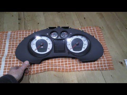 Seat Ibiza instrument speaker replacement.