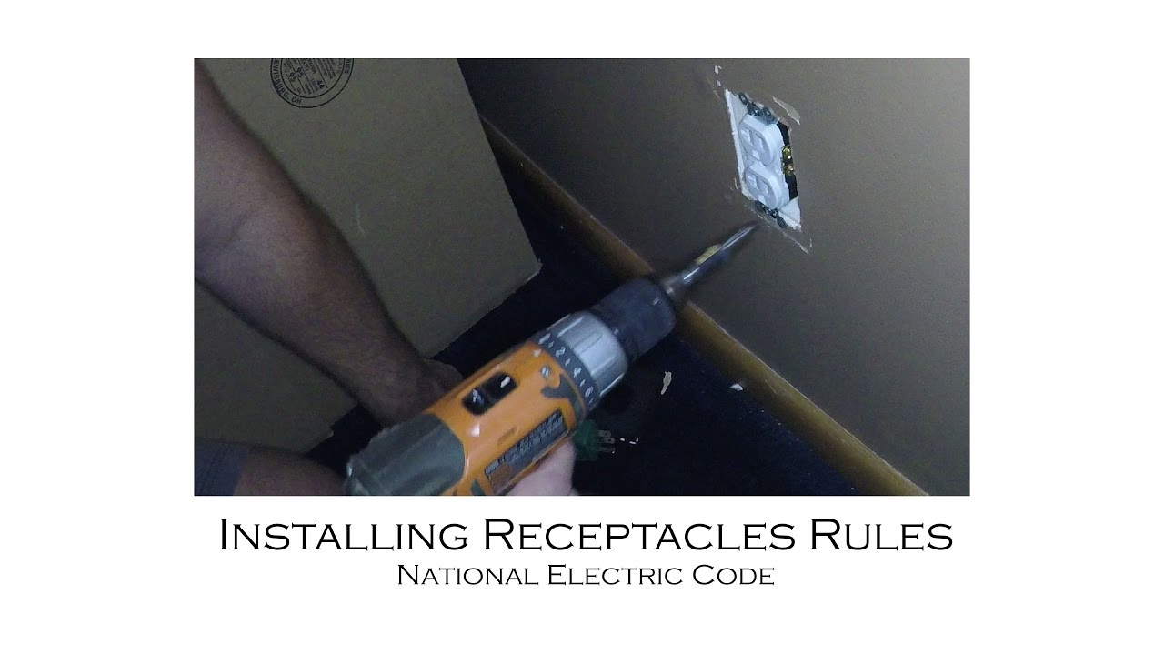 How to Install a 20Amp Outlet on a 20Amp Circuit NEC Rules for 15Amp ...