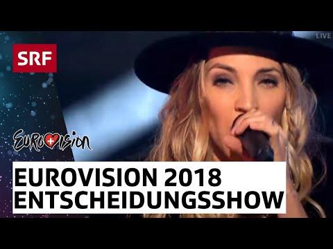 Livestream «Eurovision Song Contest 2018 – Entscheidungsshow» - #srfesc