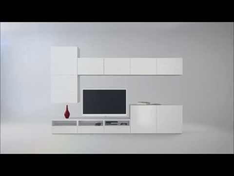 ikea besta tv niteleri pratik z mleriyle hayat n z kolayla t r yor youtube. Black Bedroom Furniture Sets. Home Design Ideas