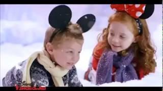 Новогодняя узнавайка на канале Дисней