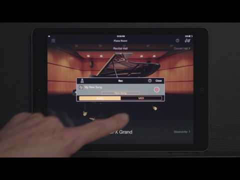 Yamaha Clavinova CSP - Record Your Music
