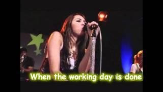 Miley cyrus - Girls just wanna have fun - Karaoke Official