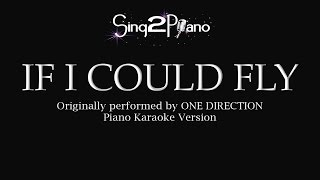 If I Could Fly (Piano karaoke) One Direction