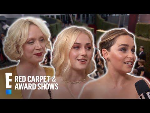 "Emmys Red Carpet: ""GoT"" Gals Take Over  E Red Carpet & Award Shows"