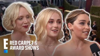 "Emmys Red Carpet: ""GoT"" Gals Take Over! 