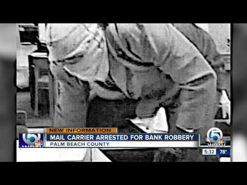 Mail carrier charged in Palm Spring bank robbery
