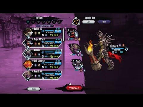 Mutants Genetic Gladiators (Giga Division Stage 2 Boss) Fight 9