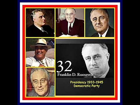 American Presidents - Franklin D. Roosevelt 32nd US President PT. 1
