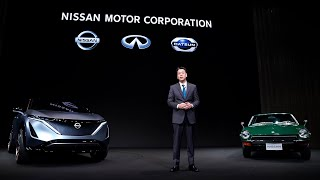Live: Nissan New CEO Press Conference