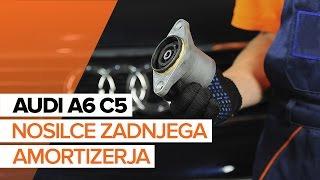 Kako zamenjati Zglob stabilizatorja AUDI A5 Convertible (8F7) - priročnik
