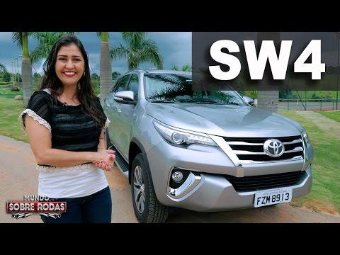 Nova Toyota SW4 SRX 2.8 Diesel em Detalhes