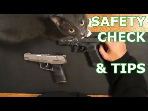 How To Safety Check A Firearm & Tips - Pistol Shotgun Rifle First Person View