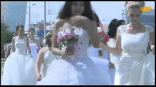 В Актау прошел «Парад невест»