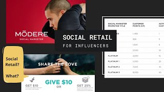 Social Retail for Influencers - Why it makes SENSE!