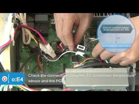CYB, RYB, UYB. FYB Inverter Systems: E2, E3 and E4 Error Codes Service and Diagnostic