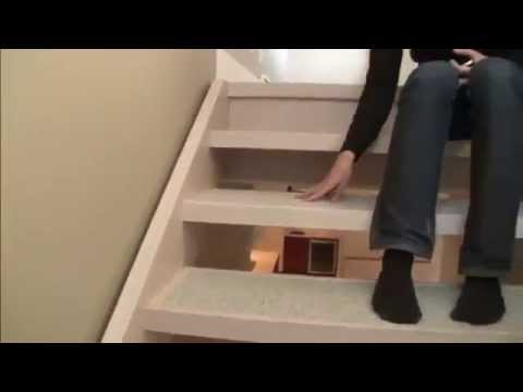 How To Detail An Open Riser Stair Youtube | Fitting Carpet To Open Tread Stairs | Landing | Floating Staircase | Stairway | Hardwood | Prefinished Stair