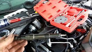 tuto remplacement pompe injection haute préssion ford mondéo tdci 115 130 année 2000 - 2007