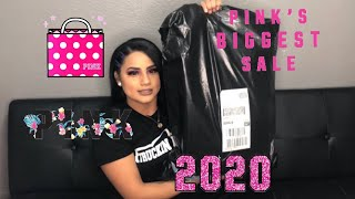 VICTORIA SECRET PINK SEMI ANNUAL SALE SHOPPING HAUL 2020
