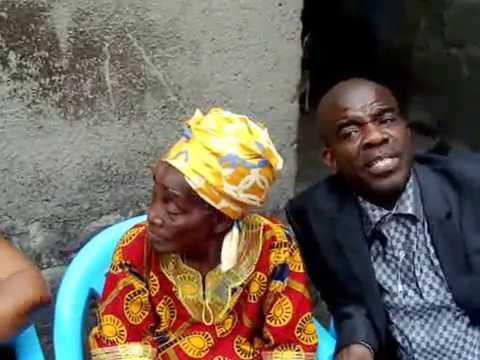 Mama Emily Ngamukwhuom Sanzay Ngaye in Kinshasa/Congo Democratic Republic
