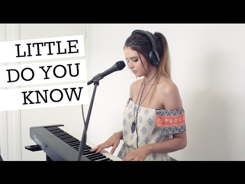LITTLE DO YOU KNOW (cover by Jess Bauer) - YouTube