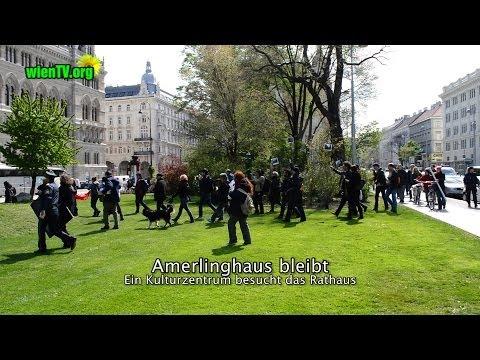 Amerlinghaus bleibt - Ein Kulturzentrum besucht das Rathaus