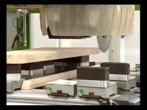Biesse rover cnc lavorazione youtube for Biesse arredamenti