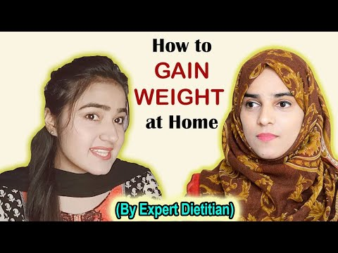Guide To WEIGHT GAIN At Home  || Easy Weight Gain Drink