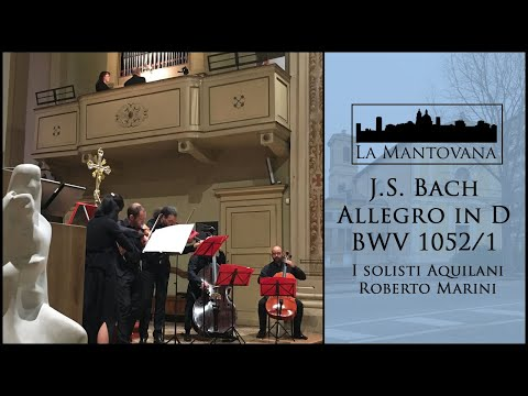 Bach: Allegro From Concerto In D Minor BWV 1052 (Marini)