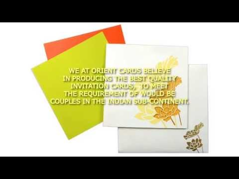INDIAN WEDDING CARDS - ORIENT CARDS
