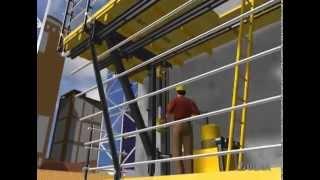 ATR self-climbing formwork - ULMA Construction [en]
