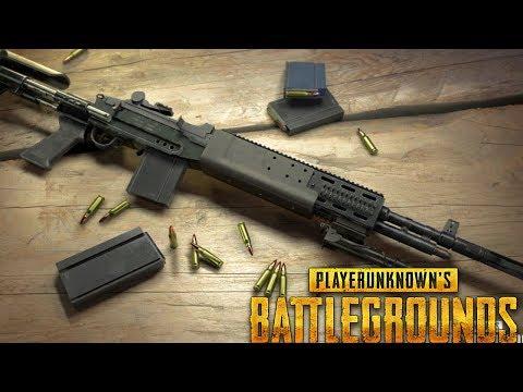 NEW UPDATE w/ Mk14 EBR SNIPER RIFLE HUNT!!! (PUBG Battlegrounds)