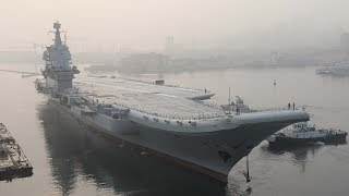 China's first domestically built aircraft carrier begins sea trials