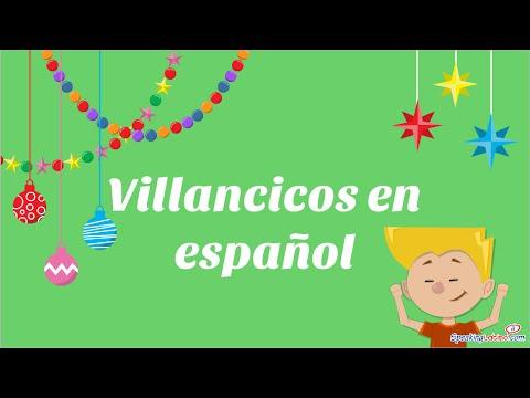 Christmas Songs in Spanish Class Activities - YouTube