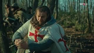 Diriliş Ertuğrul 99. Bölüm - Ertuğrul Bey'in, Nikea'dan Gelen Haçlılara Hadlerini Bildirmesi