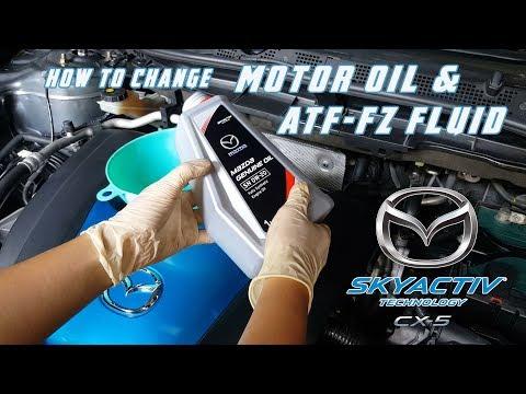 Replace engine oil & transmission oil // Mazda CX 5 CX 3 Mazda 3 Mazda 6