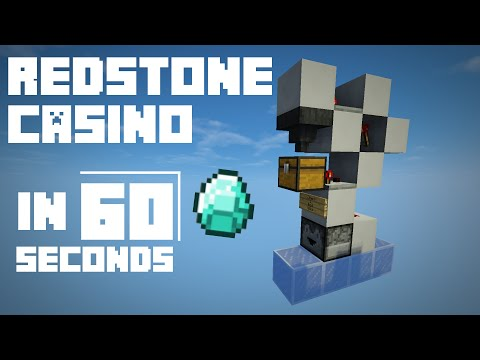 minecraft redstone casino