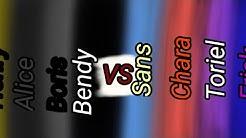 BATIM VS UNDERTALE •Singing Battle•