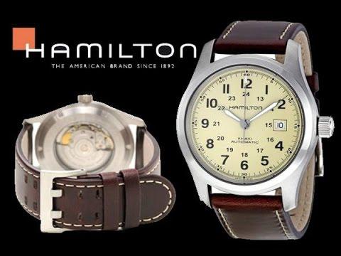 a08072500cb Hamilton Khaki Field Watch Unboxing - YouTube
