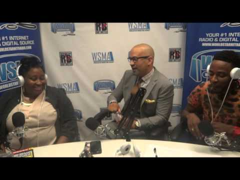 Laugh It Up Radio Interview with Comedian/Actor Pierre